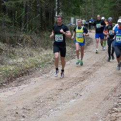 SEB 32. Tartu Jooksumaraton - Arnold Laasu (113), Ergo Meier (192), Jaanus Laidvee (224)