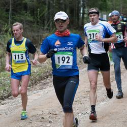 SEB 32. Tartu Jooksumaraton - Arnold Laasu (113), Ergo Meier (192)