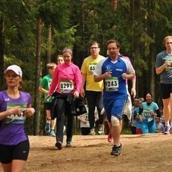SEB 32. Tartu Jooksumaraton - Kristina Opmann (8291), Aleksei Rakitin (9243)