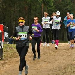 SEB 32. Tartu Jooksumaraton - Vanessa Apuhtin (8532), Anneli Apuhtin (8534), Anneli Vellerind (8558)