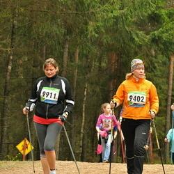 SEB 32. Tartu Jooksumaraton - Auni Aasmaa (9402), Anastasia Sergeeva (9835), Birgit Uiga (9911)