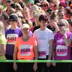 SEB 27. Maijooks - Annika Koppel (5692), Kaia-Liisa Laaniste (5941), Ingrid Raud (6357), Urve Luhamets (6689)
