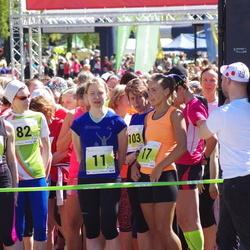 SEB 27. Maijooks - Annika Vaher (11), Merlyn Lükk (17), Järvi Valter (82), Eha Laanbek (820)