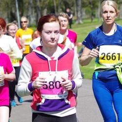 SEB 27. Maijooks - Annika Virolainen (2661), Kärt Kalvet (5801)