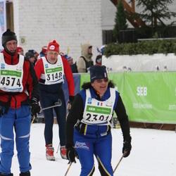 37. Tartu Maraton - Annette Lamy-Chappuis (2301), Urmas Kuldmaa (3148)