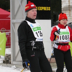 37. Tartu Maraton - Anita Viinikainen (1083), Tapio Heikkilä (1256)