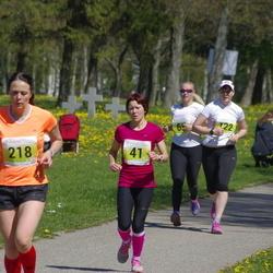 SEB 27. Maijooks - Annika Talvar (41), Katrin Oolmets (218)