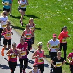SEB 27. Maijooks - Karin Kitt (2357), Maie Alaots (2846), Kristel Krošetskina (3002), Annely Sander (3015), Erle Salujõe (3611)