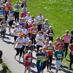SEB 27. Maijooks - Kaisa Jousimies (689), Tuuli Urgard (2190), Annika Virolainen (2661), Kristi Matt (2824)