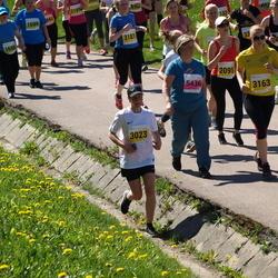 SEB 27. Maijooks - Laura Tamberg (2095), Zorjana Mural (3023), Laura Mikk (3163), Sirje Haabmets (5436)