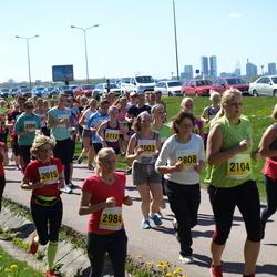 SEB 27. Maijooks - Aino Nohrin (2003), Ruth Ehandi (2015), Tiia Illak (2104), Helen Ilumäe (2808), Hännikäinen Nele (2984)