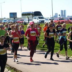 SEB 27. Maijooks - Annika Armipaik-Nukki (2214), Heidi Mesilane (2826), Evelin Järvik (3137), Tiina Nei (3794)