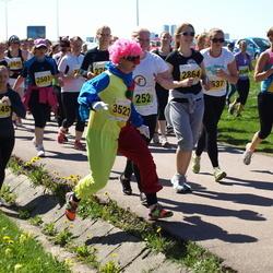 SEB 27. Maijooks - Anette Raie (252), Birgit Kuuse (2864), Elis Vaiklo (3045), Maret Kaskmaa (3522)
