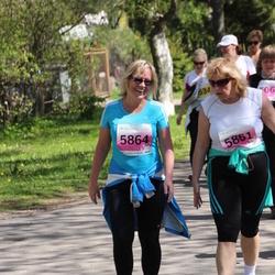 SEB 27. Maijooks - Anu Pommer (5861), Annika Kolpakova (5864)