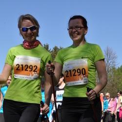 SEB 27. Maijooks - Annika Kukk (21290), Annika Ivainen (21292)