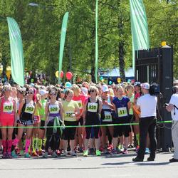 SEB 27. Maijooks - Annika Vaher (11), Mare Mändla (478), Jaanika Mändla (503), Marika Ruus (520), Eha Laanbek (820)