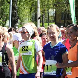 SEB 27. Maijooks - Annika Vaher (11), Järvi Valter (82), Eha Laanbek (820)