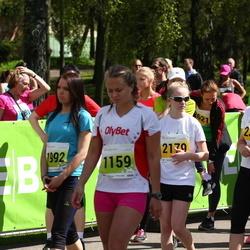 SEB 27. Maijooks - Ann-Christine Allik (1159), Jaana Viikmaa (1992), Sirli Põder (2179), Silja Põder (2347)