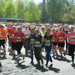 SEB 27. Maijooks - Ellen Kalmets (2173), Anna Lavrentsova (3369), Galina Pilat (3370), Margit Edvand (3690)