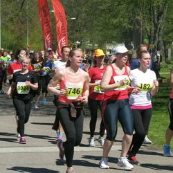 SEB 27. Maijooks - Annely Pruel (182), Annely Kruusmann (746), Vilvi Vallik (1024)