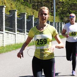 SEB 27. Maijooks - Anastasia Gerassimova (65), Marika Koval (259)