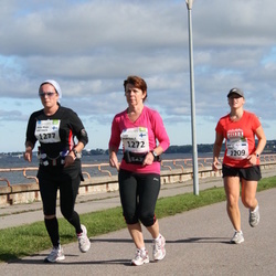 SEB Tallinn Maraton - ANU KIKAS (1209), TARJA PORTAALA (1272), ANNA-MAIJA VIRTANEN (1277)