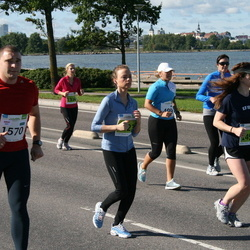 SEB Tallinn Maraton - STEFANO GAVIOLI (499), AIVAR TÄRK (900), KARIN ALLIKAS (1334), ARIANE CYBULSKIS (1497)