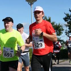 SEB Tallinn Maraton - ARTO LEPIK (529), SILVER VERREV (691)