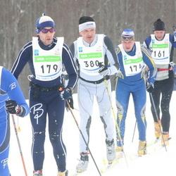 36. Tartu Maraton - Priit Kajari (100), Sven Luks (161), Juha Peltomäki (174), Andre Laine (179), Paul Vaard (380)