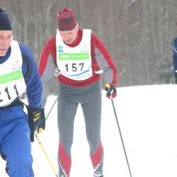 36. Tartu Maraton - Tõnu Tänav (157), Aare Kiik (158), Tarmo Evestus (211)