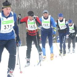 36. Tartu Maraton - Erik Aibast (162), Mati Koovit (169), Ahti Külm (275), Artur Maier (331)