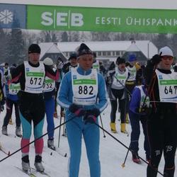 36. Tartu Maraton - Agris Knope (672), Hugo Pastimäe (882)