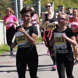 SEB 27. Maijooks - Estelle Tikerpalu (3382), Abigail Tikerpalu (3383)