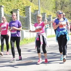 SEB 27. Maijooks - Ann Liisbel Petter (5180), Lisett Pedak (6320), Vivi Aleksejeva (7176), Merje Noorlind (7181)
