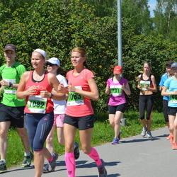 Olümpiajooks - Siiri Vene (1082), Berit Rohtjärv (1083)