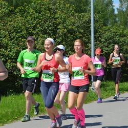 Olümpiajooks - Marek Oja (305), Siiri Vene (1082), Berit Rohtjärv (1083)