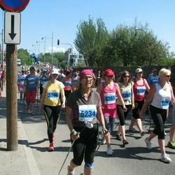 Olümpiajooks - Christel Umal (5146), Reet Linna (5234), Lea Pääsik (5265)