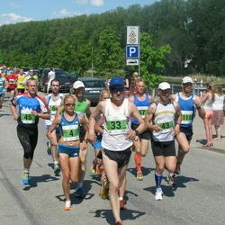 Olümpiajooks - Leila Luik (4), Andi Linn (33), Allar Kivil (43), Taavi Kala (45)