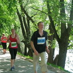 Olümpiajooks - Kati Kraavi (221), Andre Kägra (5128)