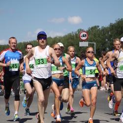 Olümpiajooks - Leila Luik (4), Liina Luik (5), Andi Linn (33), Taavi Kala (45)