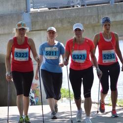 Olümpiajooks - Maaja Kolpakova (5011), Anna Semenas (5293), Kristel Angerjärv (5321), Maili Ainsalu (5323)