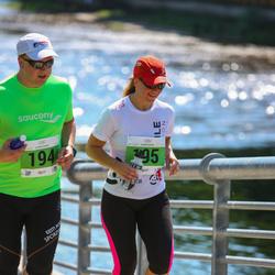 Olümpiajooks - Ago Arro (194), Kadri Bauman (195)