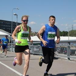 Olümpiajooks - Markel Pärnsalu (224), Brit Rammul (225)