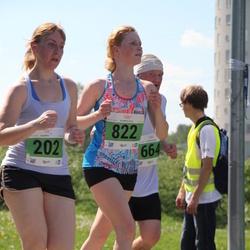Olümpiajooks - Kristi Rusin (202), Annika Adoberg (822)