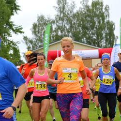 1. Otepää jooksutuur - Mari Sauga (4), Maris Tamm (134), Marge Nõmm (135)
