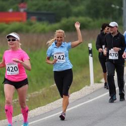 II Rapla Selveri Suurjooks - Sirje Kink (142), Marika Roopärg (420)