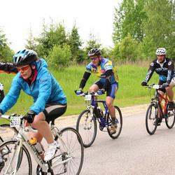 SEB 33. Tartu Rattaralli - Anneli Sitska (5783), Tiit Miller (5900), Kalle Vall (6809)
