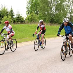 SEB 33. Tartu Rattaralli - Lille Loo (5767), Brita Sander (5986), Hannes Lents (7057)