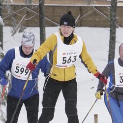 35. Haanja suusamaraton - Kaja Ligi (563), Arti Männi (599)