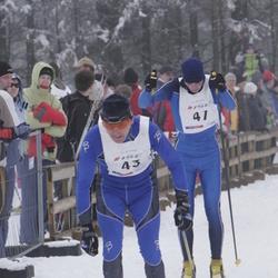 35. Haanja suusamaraton - Tarmo Mõttus (43), Alexander Lott (47)